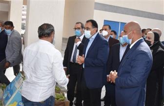 رئيس الوزراء: بازار بورسعيد الجديد نقلة نوعية تسهم فى تحسين جودة الحياة | صور