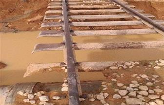 سكك حديد مطروح: بدء أعمال إصلاح المنطقة الواقعة بين سمات والسلوم | صور