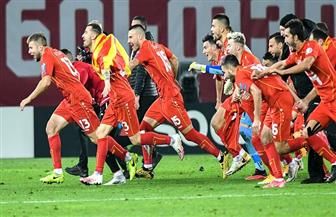 لأول مرة فى تاريخها.. مقدونيا الشمالية تتأهل لنهائيات بطولة أوروبا