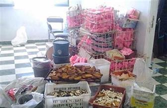 ضبط 17 طن حلوى جافة فاسدة قبل بيعها للمواطنين في الإسكندرية