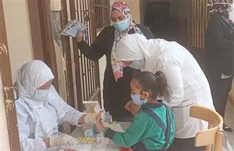 تطعيم 173 ألفا و731 من تلاميذ المدارس ضد الطفيليات في أسوان