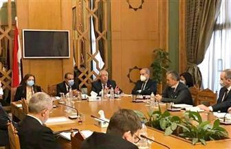 مساعد وزير الخارجية يلتقي سفراء عدد من الدول الأوروبية |صور