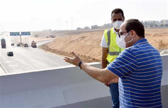 المتحدث الرئاسي ينشر صورا لتفقد الرئيس السيسي مشروعات تطوير محاور وكباري بالقاهرة والجيزة