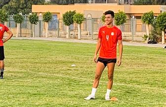 أحمد عيد ينتظم في تدريبات منتخب الشباب