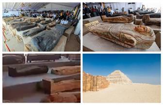 «السياحة والآثار» تعلن عن أكبر كشف أثري بسقارة | صور