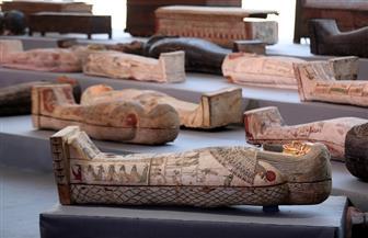 وزير السياحة والآثار: 100 تابوت و40 تمثالا بأقنعة ذهبية في الكشف الأثري الجديد بسقارة