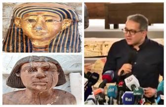 «العناني»: كشف سقارة الجديد يؤكد نجاح البعثة الأثرية المصرية العاملة| صور