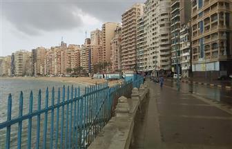 الأمطار تسبب حالة من الارتباك بطريق الإسكندرية الصحراوي | صور