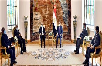 الرئيس السيسي يؤكد مجددا ثوابت موقف مصر للتوصل إلى اتفاق قانوني ملزم بشأن سد النهضة