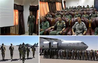 """""""نسور النيل - 1"""".. تدريب جوي مشترك بين القوات المسلحة المصرية والسودانية للمرة الأولى"""