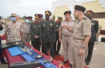 قائد قوات الدفاع الجوى السودانى يلتقى الفريق على فهمى ويتفقدان عددا من الوحدات