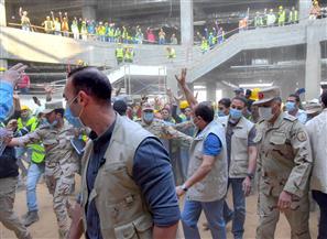 الرئيس السيسي يتفقد مدينة مصر الدولية للألعاب الأوليمبية بالعاصمة الإدارية الجديدة| صور