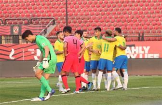 البرازيل الأوليمبي يفوز على كوريا الجنوبية بثلاثية وديا | صور