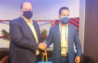 رئيس بعثة منتخب البرازيل الأولمبي يشكر اتحاد الكرة