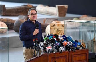 «العناني»: اكتشافات سقارة الأثرية تمت بأيد مصرية | فيديو