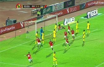 «الونش» يسجل هدف منتخب مصر الأول في شباك توجو