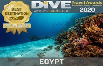 مصر تفوز بالمركز الثاني كأفضل وجهة للغوص في العالم لعام 2020