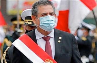 رئيس بيرو المؤقت يعلن استقالته من منصبه