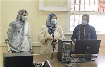 تدشين وحدة الخدمات الإلكترونية بكلية الخدمة الاجتماعية بجامعة الفيوم |صور