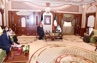 وزير الخارجية يلتقي رئيس الوزراء الكويتي وولي العهد