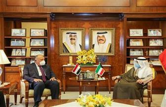 وزير الخارجية يعقد جولة مباحثات رسمية مع نظيره الكويتي | صور