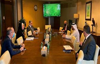 وزيرة التجارة تبحث مع ممثلي «دبي للاستثمار» إنشاء مجمع استثماري متكامل بالفيوم