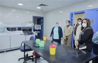 محافظ دمياط تزور بنك الدم الإقليمي المدرج لتصنيع البلازما  صور