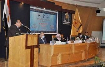 """رئيس جامعة حلوان للطلاب الوافدين: """"أنتم سفراء وطنكم بمصر""""   صور"""