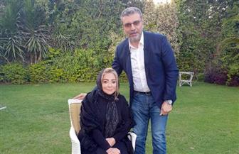 عمرو الليثى يستضيف شهيرة في أول لقاء بعد وفاة محمود ياسين | صور