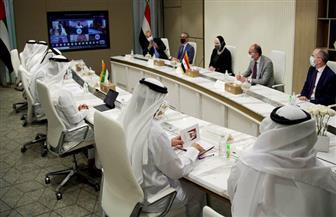 نيفين جامع ووزير الاقتصاد الإماراتي يترأسان الاجتماع الأول لمجلس الأعمال المشترك