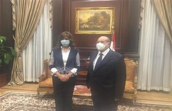 رئيس الشيوخ يشيد بدور وزارة الهجرة ويؤكد: تحافظ على المصريين بالخارج | صور