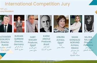 تضم لبلبة وجابي خوري.. وأليكساندر سوكوروف رئيسا للجنة تحكيم المسابقة الدولية بمهرجان القاهرة