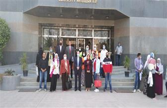 جامعة حلوان: انطلاق المرحلة الثانية من تطوير منطقة كفر العلو   صور