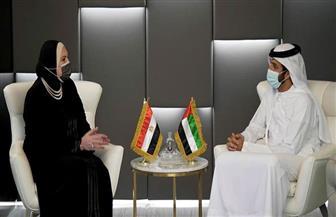 وزيرة الصناعة : دعم  القيادة السياسية في مصر والإمارات ركيزة لتعزيز الشراكة الإستراتيجية بين البلدين| صور