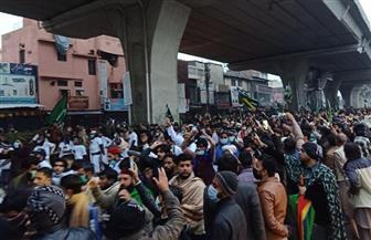 إغلاق إسلام أباد بسبب احتجاجات مناهضة لفرنسا