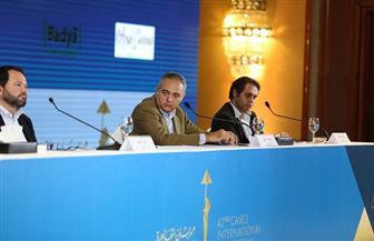 محمد حفظي: نتمنى حضور جميع الضيوف بالمهرجان.. ونتوقع الاعتذارات | صور