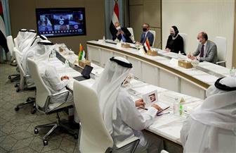 """جامع: نبحث مع الجانب الإماراتي توسيع نطاق التعاون مع مصرف """"أبو ظبي للتنمية"""""""