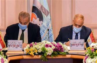 وزير التموين ورئيس العربية للتصنيع يتفقان على تعزيز خطة الدولة لاستخدام الغاز الطبيعي بالمخابز