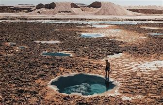 «برك الملح» أيقونة سيوة السياحية | حديث الصور