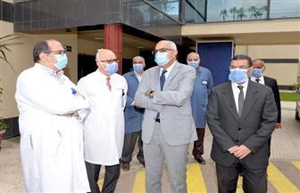 تشغيل أحدث جهاز أشعة مقطعية بمركز الكلى والمسالك البولية بجامعة المنصورة | صور