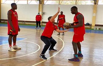معسكر مغلق لمنتخب أوغندا لكرة السلة بالإسكندرية قبل انطلاق تصفيات إفريقيا   صور