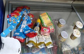 إعدام 2 طن أغذية وعصائر غير صالحة في حملة بالدقهلية  صور