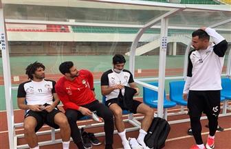 محمد مراد: محمد النني شارك في تدريبات المنتخب قبل ظهور نتيجة المسحة الطبية