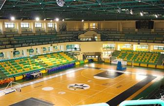 صالة الدكتور كمال شلبي تستعد لاستضافة التصفيات المؤهلة لبطولة إفريقيا لكرة السلة | صور