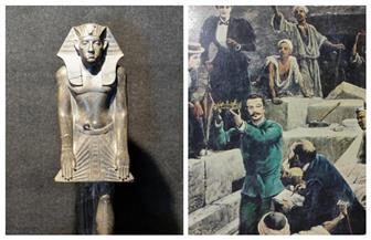 في الذكرى الـ118 لافتتاحه.. حكاية نقل خبيئة دهشور الذهبية للمتحف المصري بالتحرير | صور