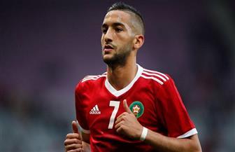 «زياش» يقود هجوم المغرب أمام إفريقيا الوسطى
