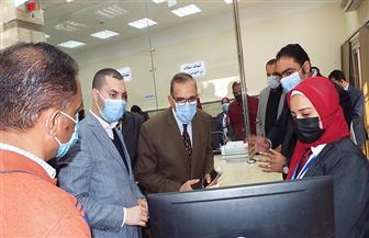محافظ كفر الشيخ يتفقد المركز التكنولوجي   صور
