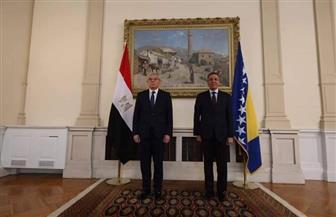 سفير مصر الجديد لدى البوسنة والهرسك يقدم أوراق اعتماده إلى رئيس المجلس الرئاسي | صور