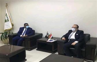 السفير المصري في السودان يلتقي بوالي الخرطوم | صور