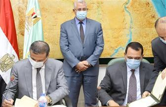 وزيرالزراعة يشهد توقيع بروتوكولين لدعم المستفيدين من مشروع 1.5 مليون فدان